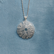 starflower filigree pendant