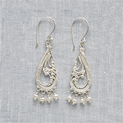 Paisley Drop Earrings