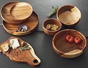 suar wood handled wood bowl alt