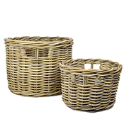 Rattan Basket Set of 2
