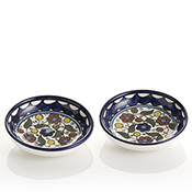set of 2 condiment bowls
