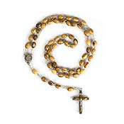 olive wood rosary beads
