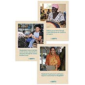 Fair Trade Impact Table Signs