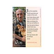 CRS Prayer Cards - set of 20