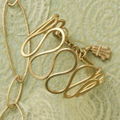 oval loops brass bracelet2