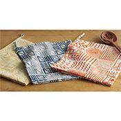 African Print Dish Towels