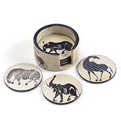 Set of 6 Tinga-Tinga Coasters