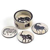 Set of 6 Tinga-Tinga Coasters