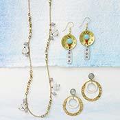 trinity stamped earrings alt