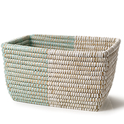 Mint & Natural Basket - Regular