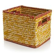 Mustard Chindi Wrap Basket