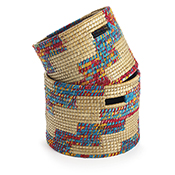 Chindi Stairstep Basket Set