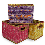 Chindi Wrap Baskets