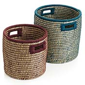 Bicolor Basket Set