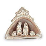 Domed Terra Cotta Nativity