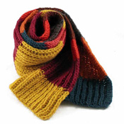 warm wooly scarf