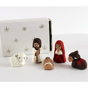Tiny Matchbox Nativity