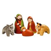 Peruvian Nativity Set