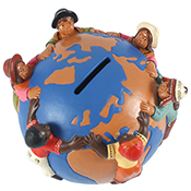 Children of The World Globe Bank