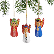 Petite Peruvian Angel Ornaments