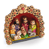 Peruvian Ornament Nativity