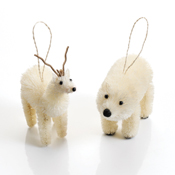 Arctic Animal Ornament Set