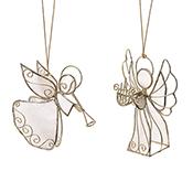 Musical Angel Ornament Set