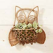 Bacbac Owl Wall Basket