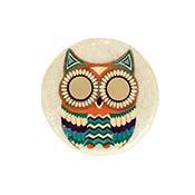 owl capiz box