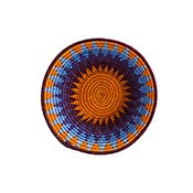 African Sunset Gallery Basket