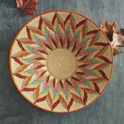 new day sisal gallery basket