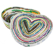 Colorwrap Heart Box