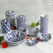 floral canister set