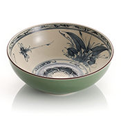 dragonfly serving bowl
