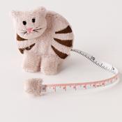 Frisky Kitty Tape Measure