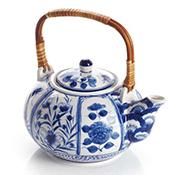 Blue Meadow Teapot