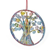 Tree of Life Recycled Ornament