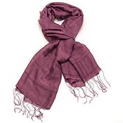 plum scarf