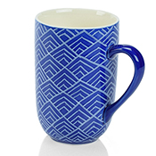 Blue Bat Trang Mountain Mug