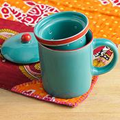 song cai tea infuser mug