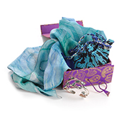 Beautiful in Blue Accessories Gift Box