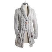 Wool Cardigan Natural