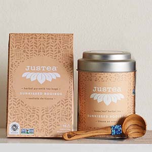 Sunkissed Rooibos Tea - Rooibus Loose Leaf Tin