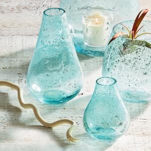 Jodhpur Blue Bud Bubble Vases - Tall Blue Bud