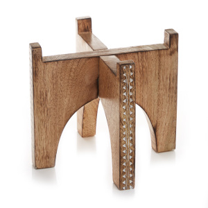 Mango Wood Plant Stands - Small