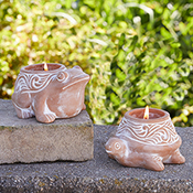 pond critter citronella candles