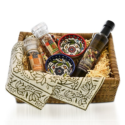 Double Dipper Gift Basket