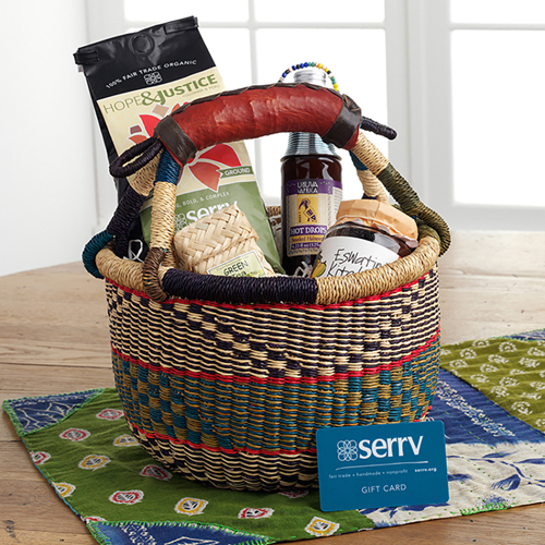 Global Sampler Gift Basket
