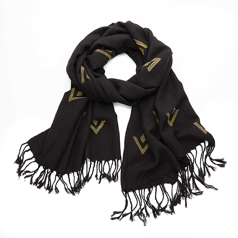 Alexandria Scarf - Golden Arrow