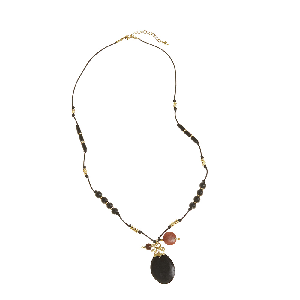 Tranquil Black Necklace
